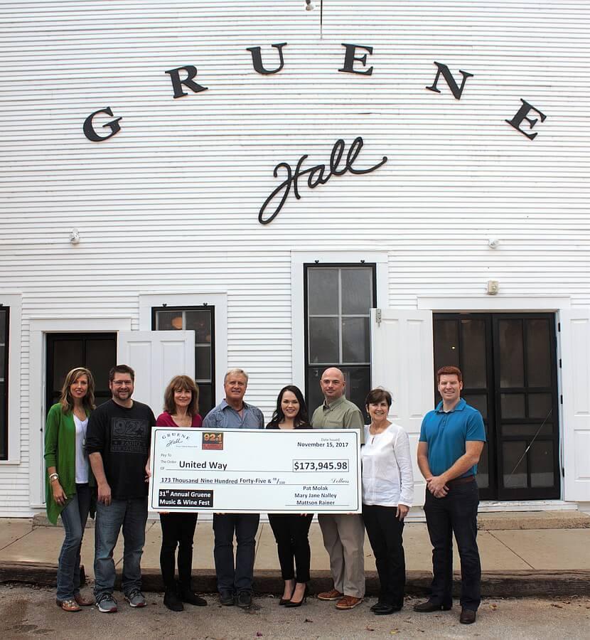 Gruene Hall Check