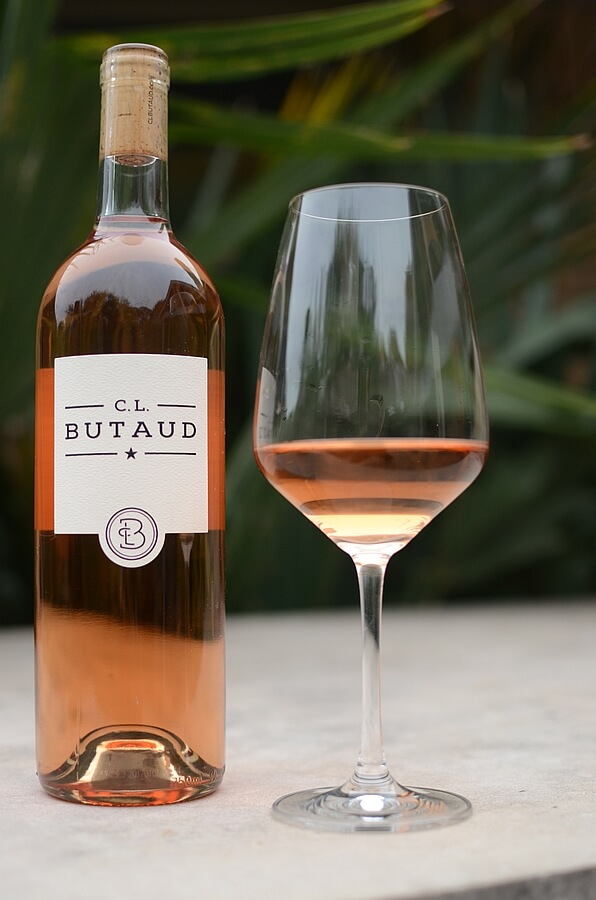 C.L. Butaud Rose bottle