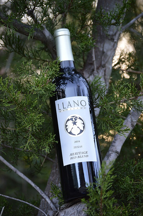 Llano Meritage bottle