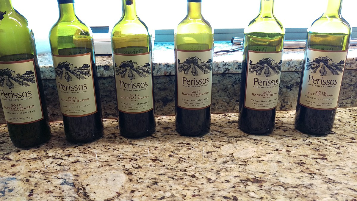 Perissos Wine Vertical Nov 2017