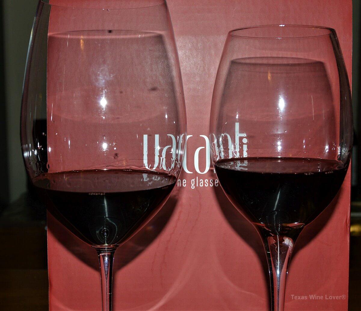 Riedel vs Vacanti wine glasses