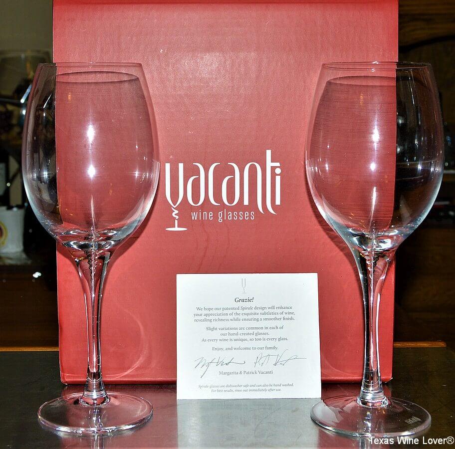 Vacanti wine glasses