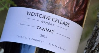 Westcave Cellars 2015 label