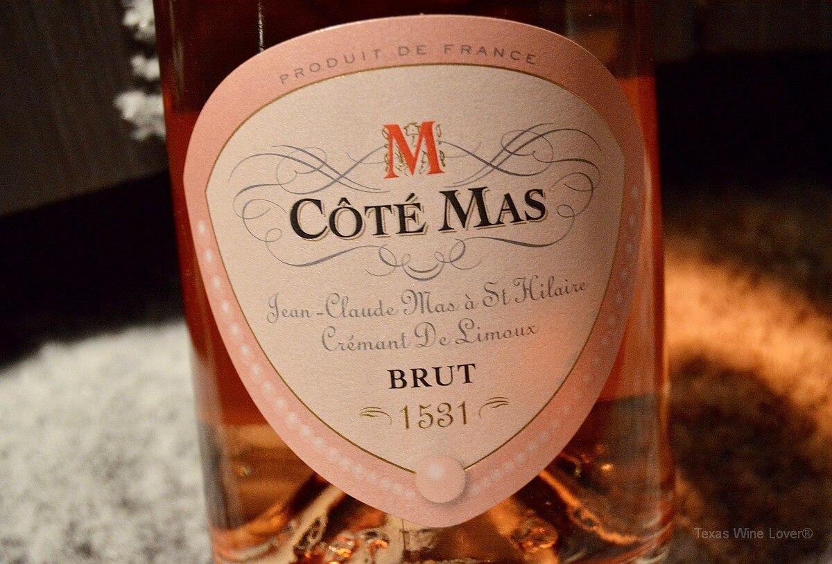 Côté Mas Crémant de Limoux Rosé Brut front label