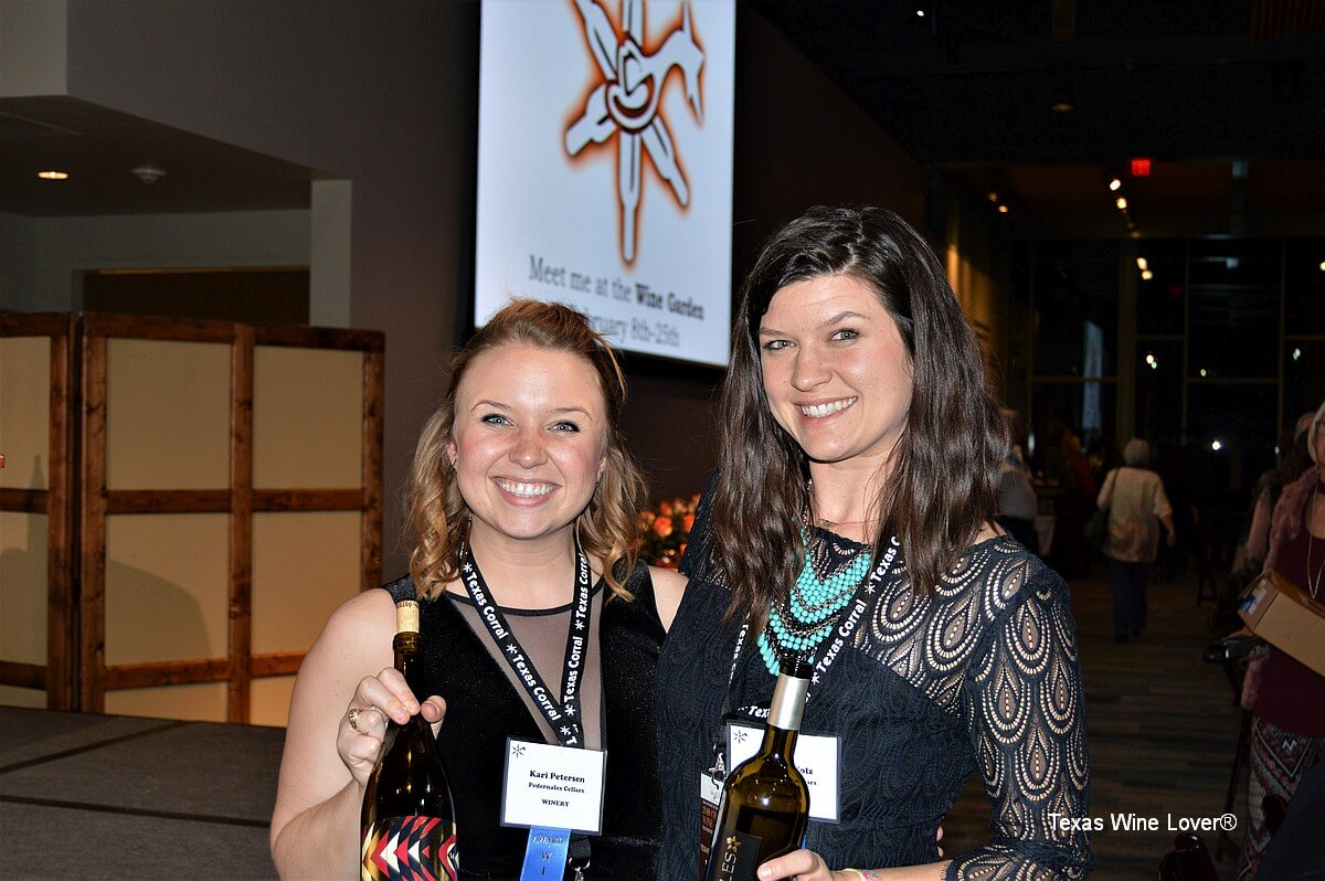 Kari Petersen and Rachael Wolz - Pedernales Cellars