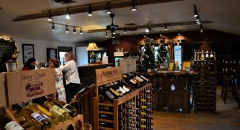 The Grapevine tasting room