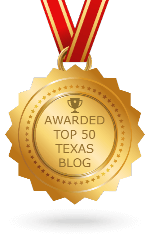 Awarded Top 50 Texas Blog