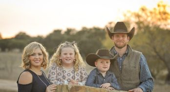 Weston McCoury and family