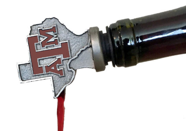A&M pouring for stand maroon