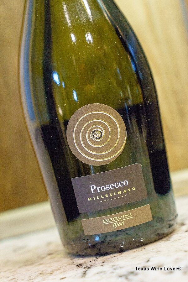 Bervini 1955 Prosecco bottle front