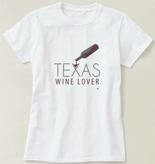 Texas Wine Lover Womens t-shirt