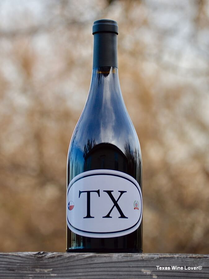 TX Locations 6 wine bottle