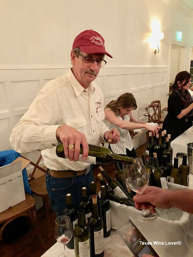 Texas Wine Growers Hawks Shadow booth