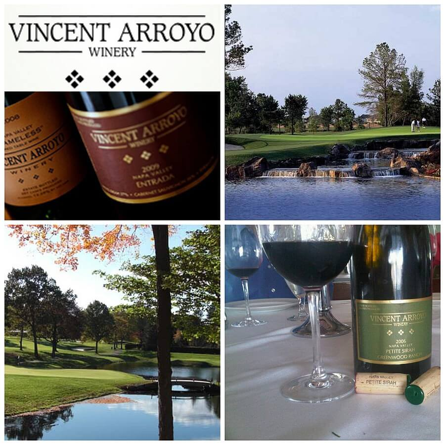 Vincent Arroyo Winery collage