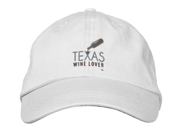 Texas Wine Lover adjustable hat front