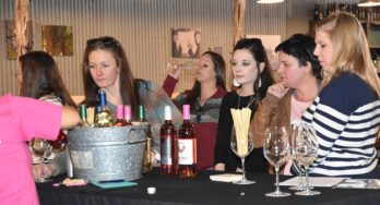 High Plains wineries tour guests