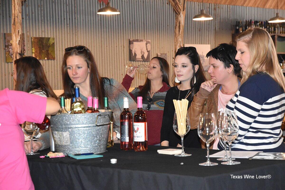 High Plains wineries tour guests