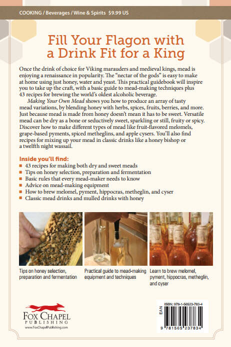 Making Your Own Mead back cover