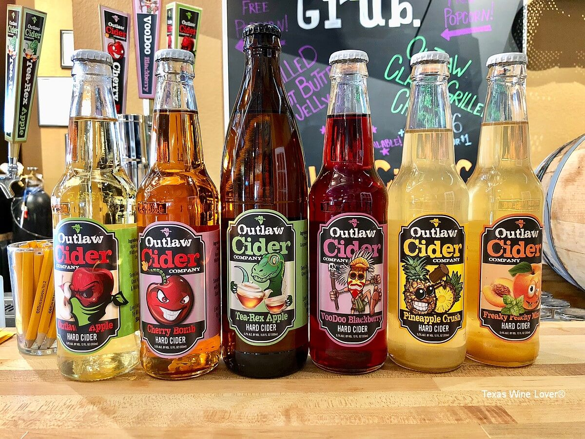 Outlaw Cider Company ciders