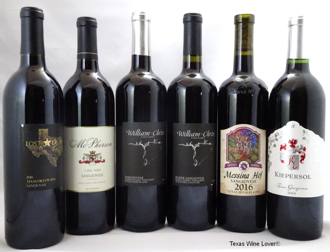 Battle of the Sangiovese wines
