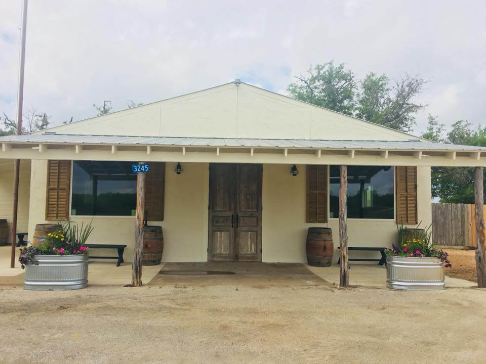 Texas Heritage Vineyard outside