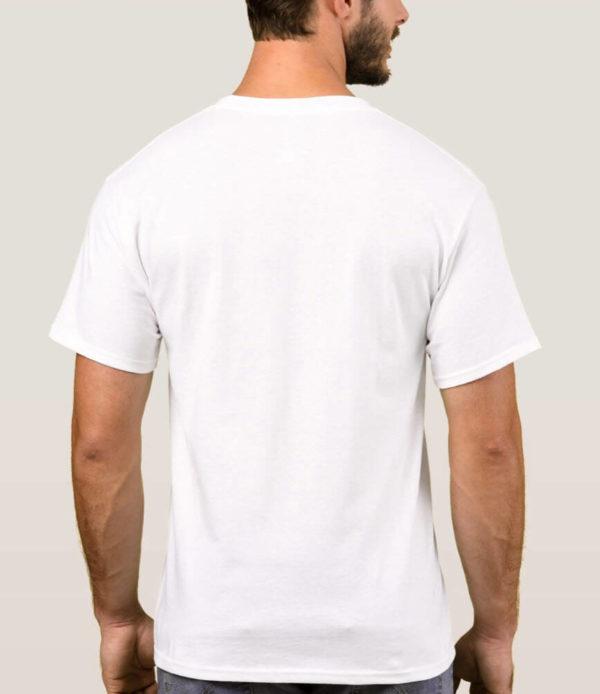 Texas Wine Lover Basic t-shirt back
