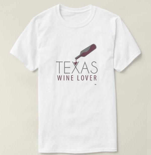 Texas Wine Lover Basic t-shirt design front