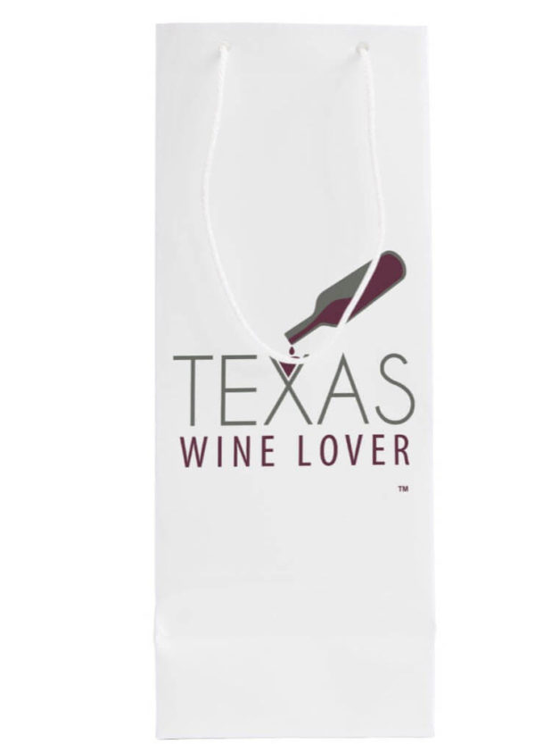 Texas Wine Lover Gift bag back