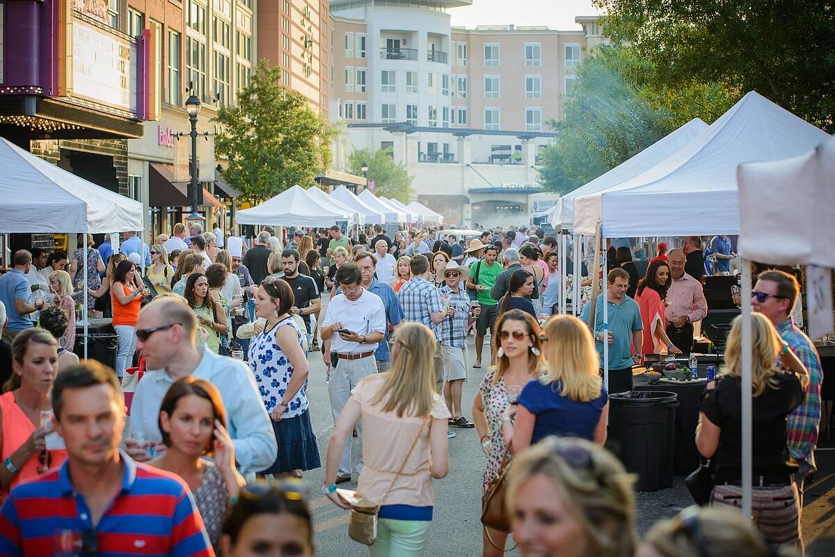Wine and Food on Market Street