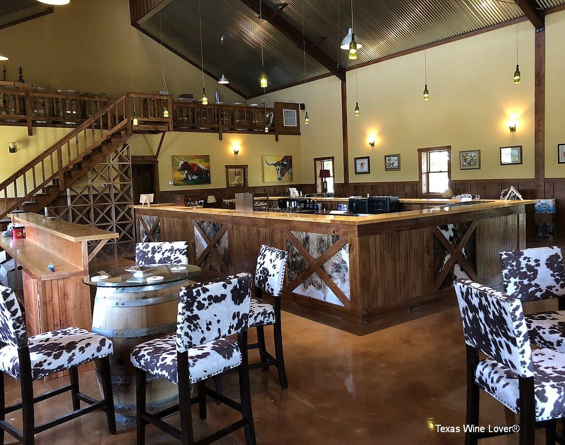 Longhorn Cellars tasting room