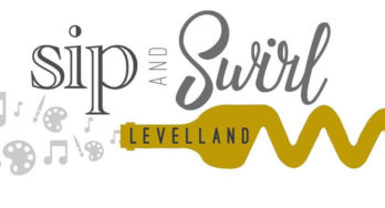 Sip and Swirl Levelland logo