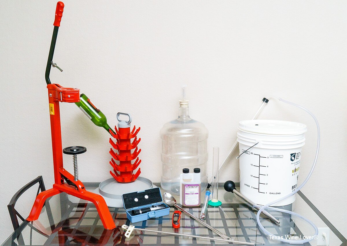home winemaking equipment