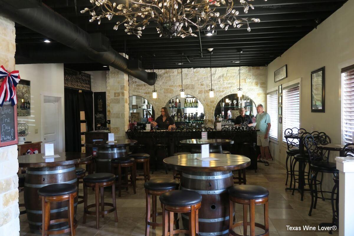 Whitley Vineyards tasting room