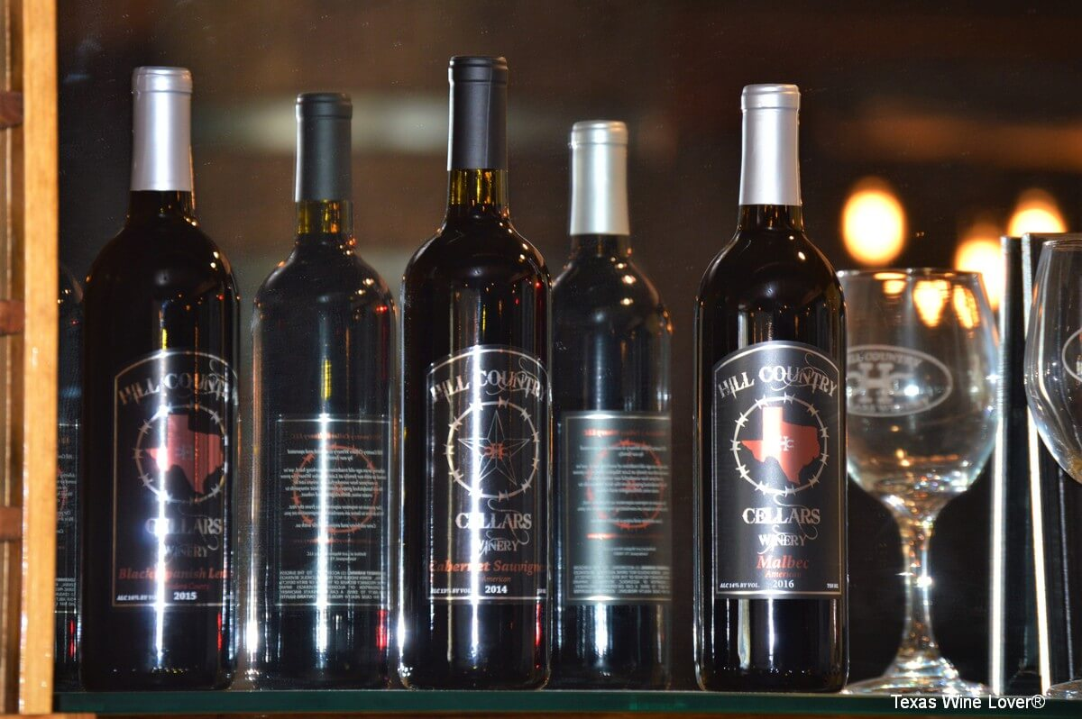 Hill Country Cellars reds