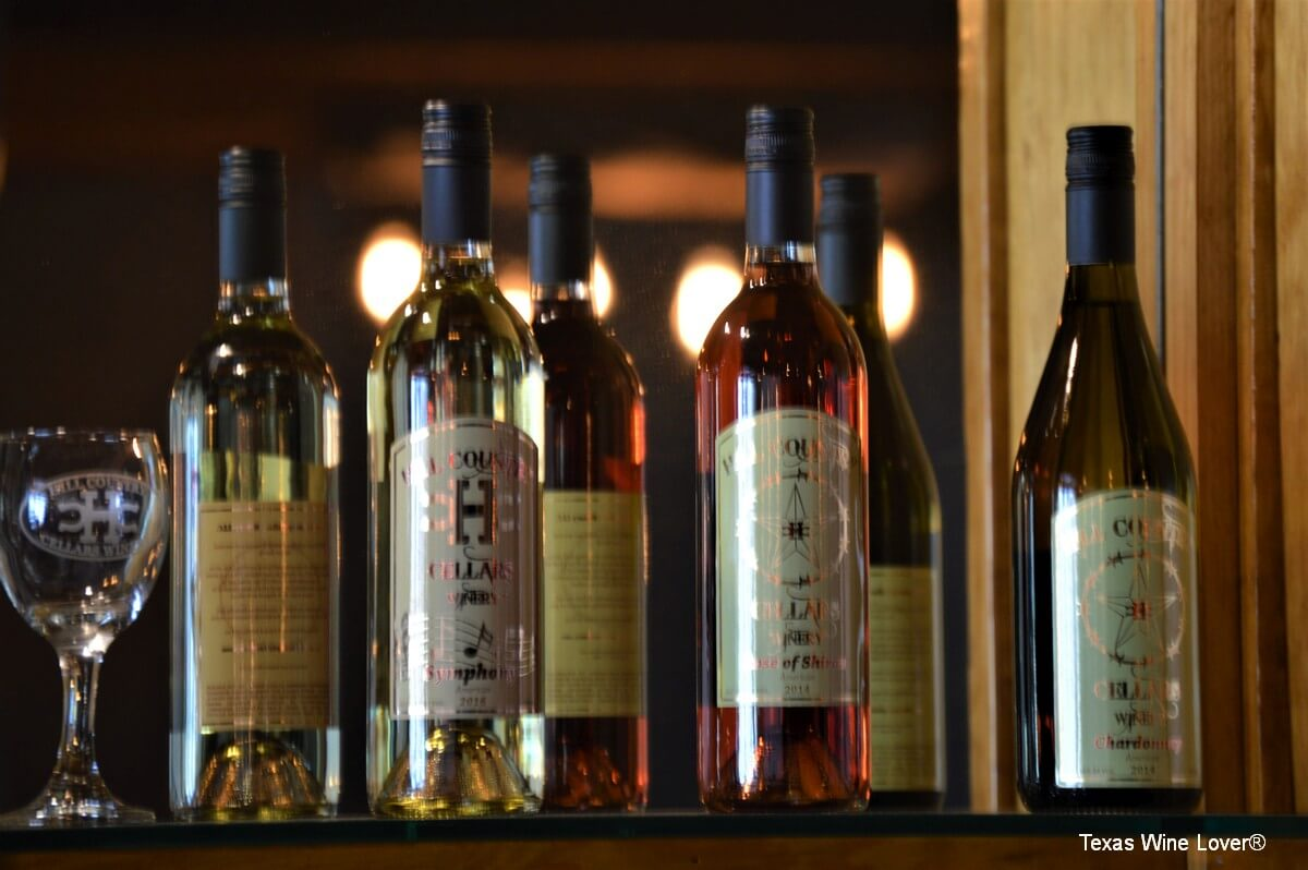 Hill Country Cellars whites and roses