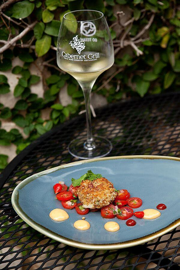 Crab Cake at Cabernet Grill