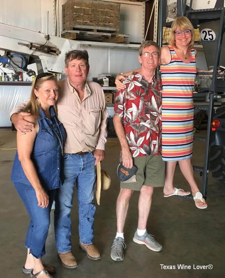 Crew at Newsom Vineyards