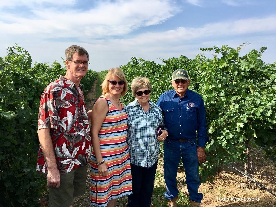 Group at Canada Vineyards