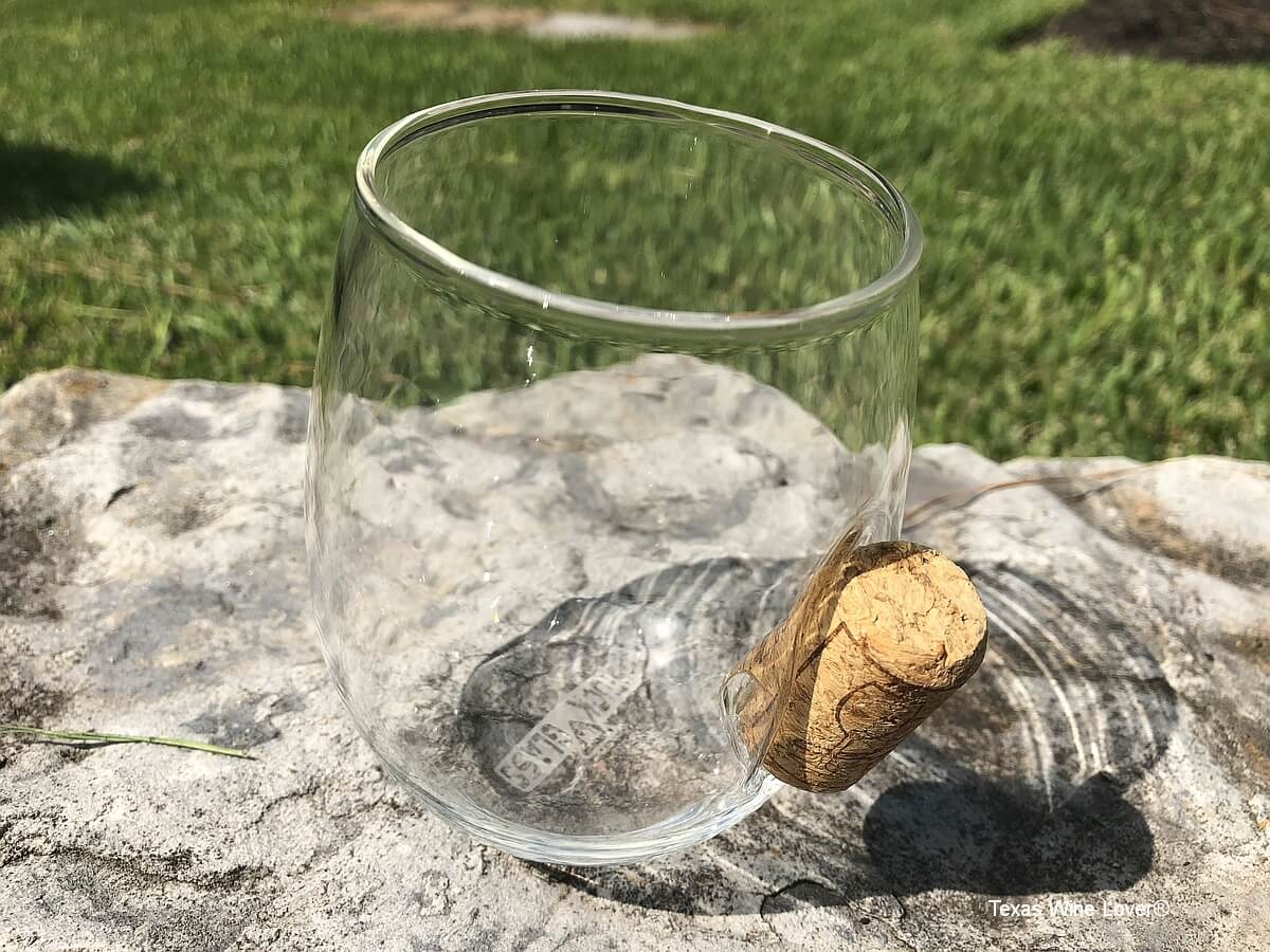 Stuck in Glass with cork