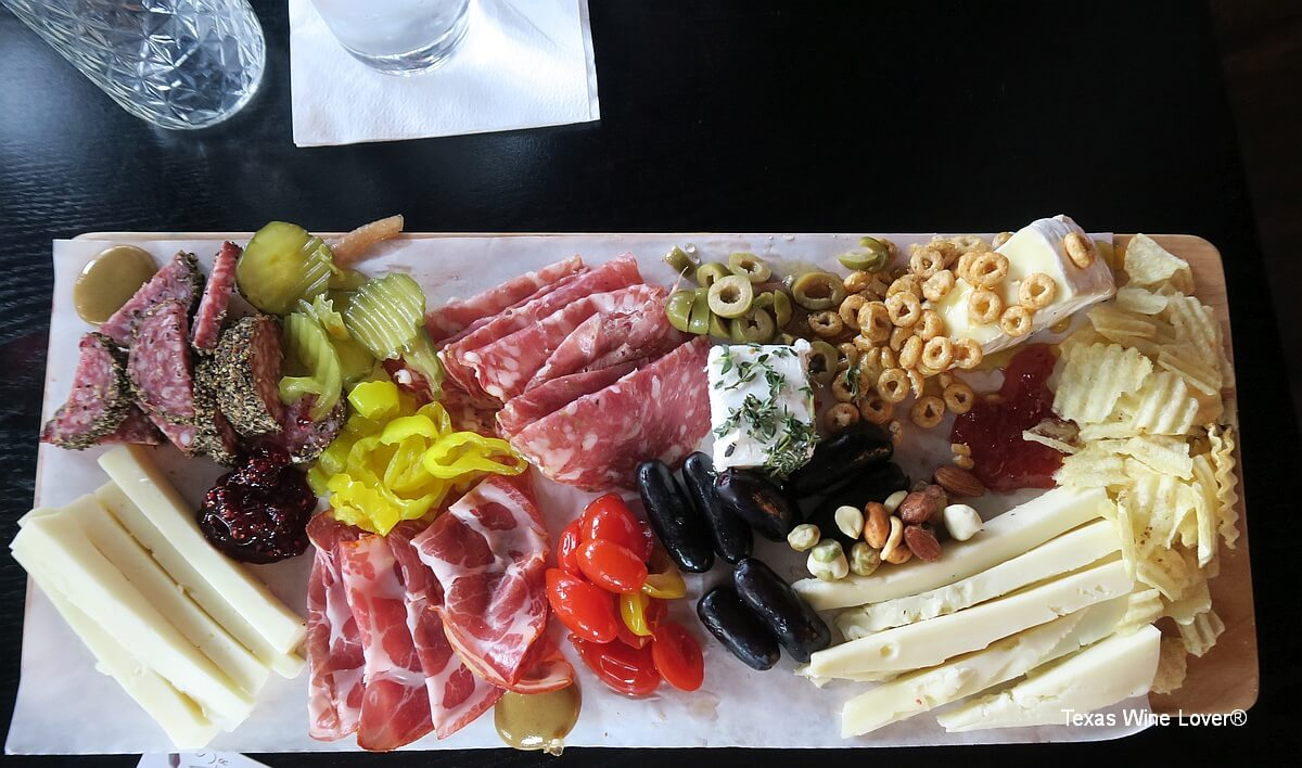 charcuterie plate Sable Gate Winery