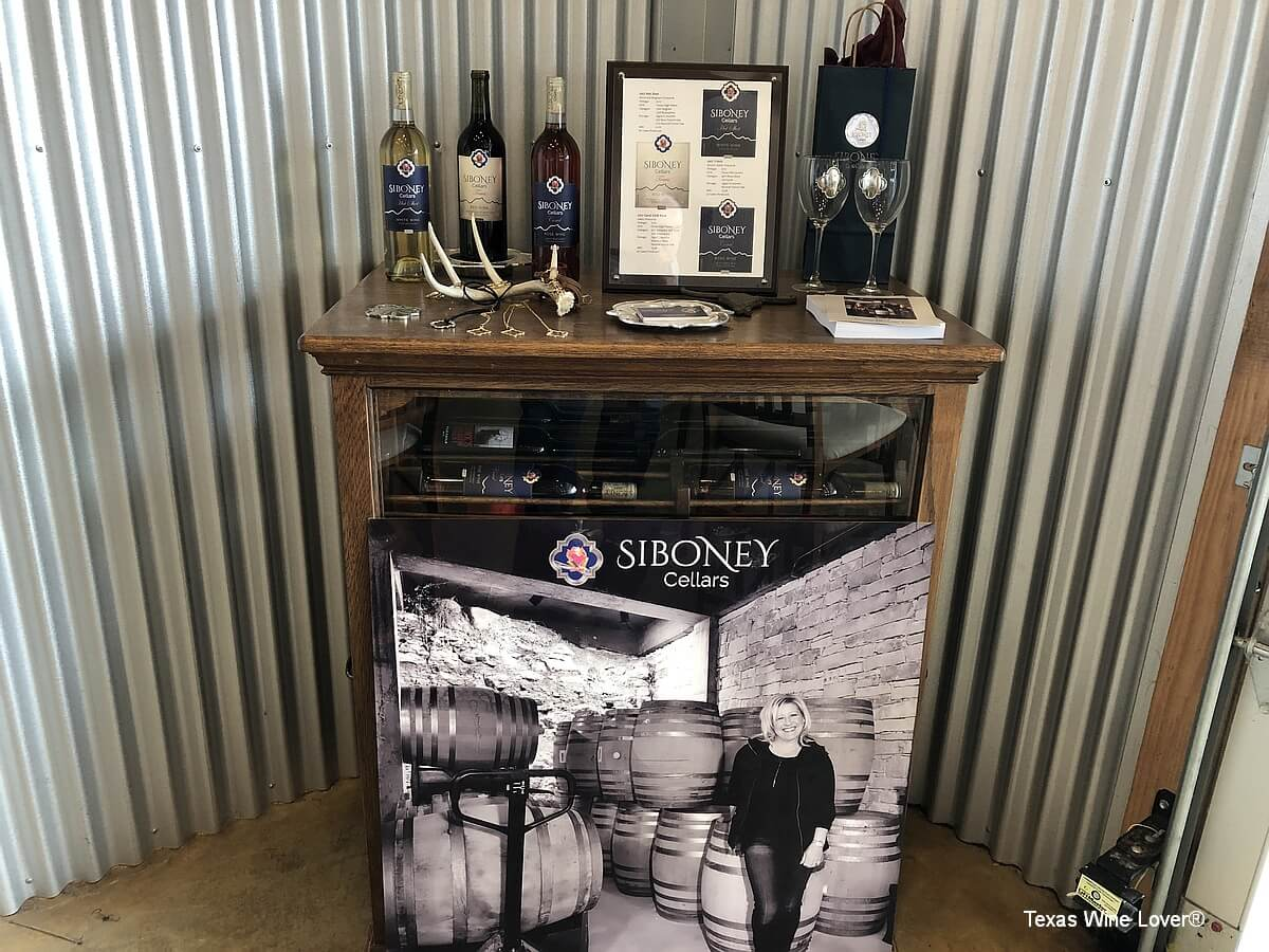 Siboney Cellars merchandise