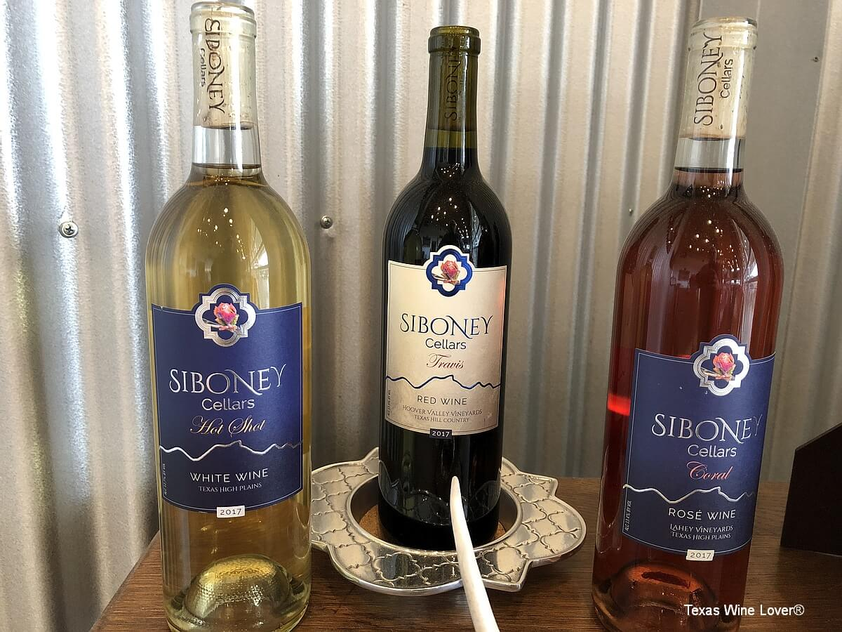 Siboney Cellars wines