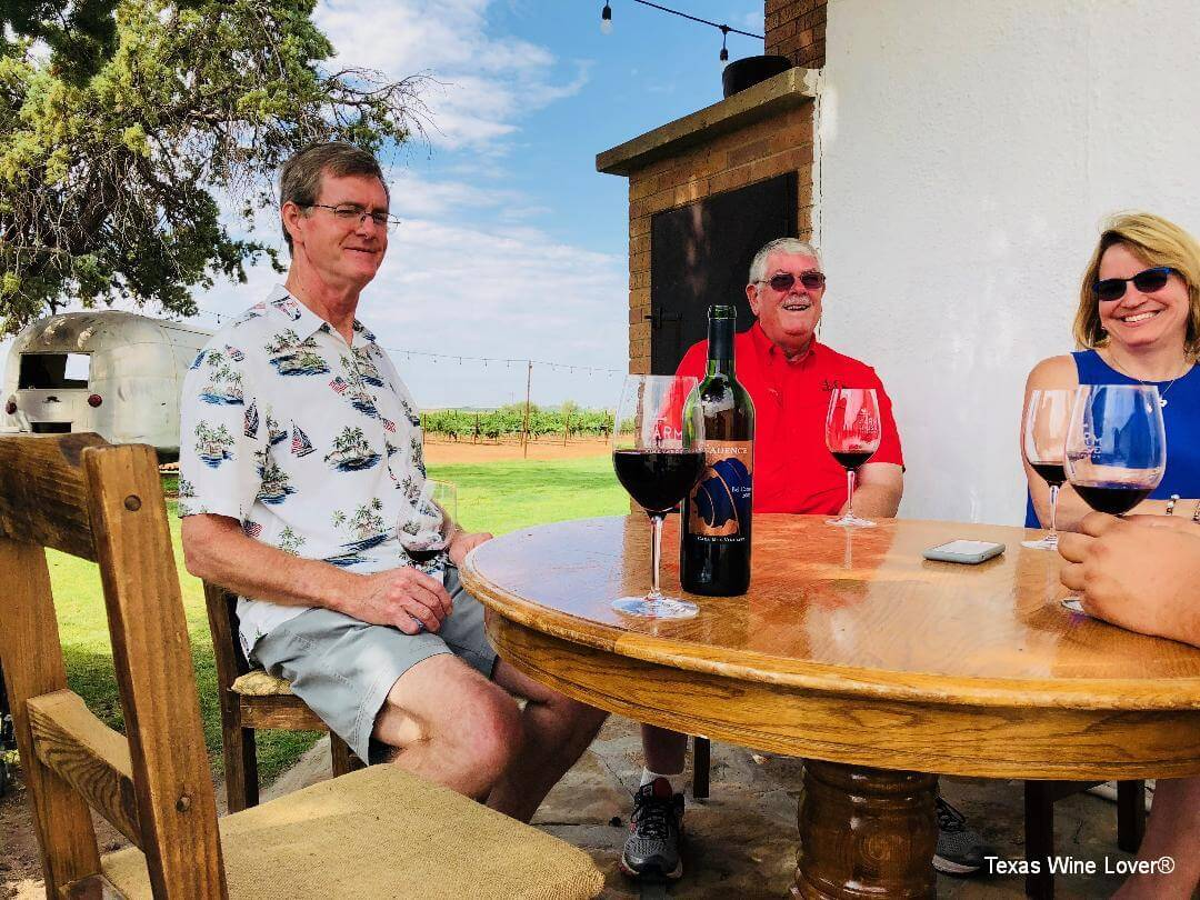 Texas High Plains at Farmhouse Vineyards
