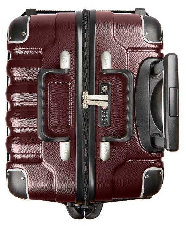 VinGardeValise Burgundy Grande 05 Top