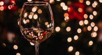 Christmas holiday wine