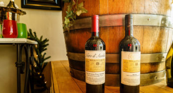 Cross Mountain Vineyards wine