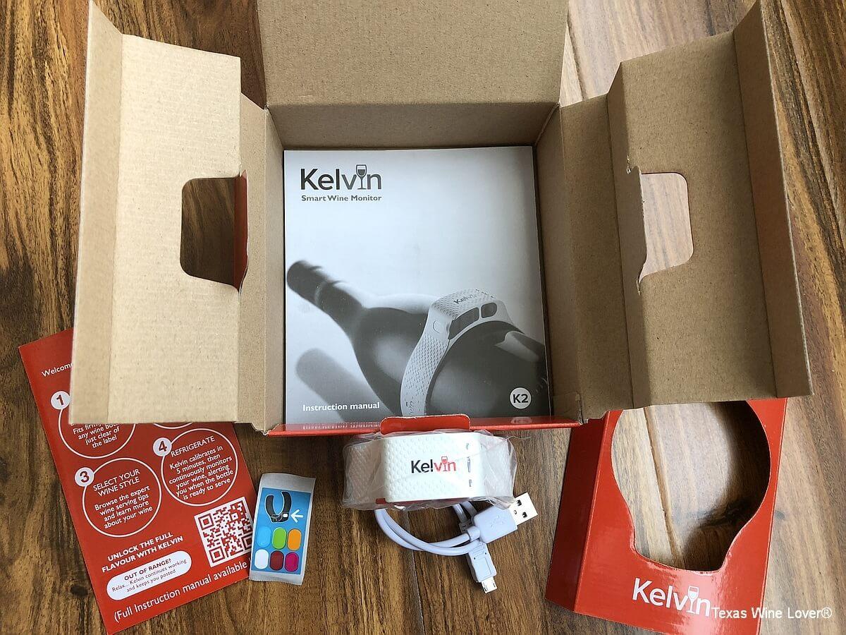 Kelvin K2 box contents
