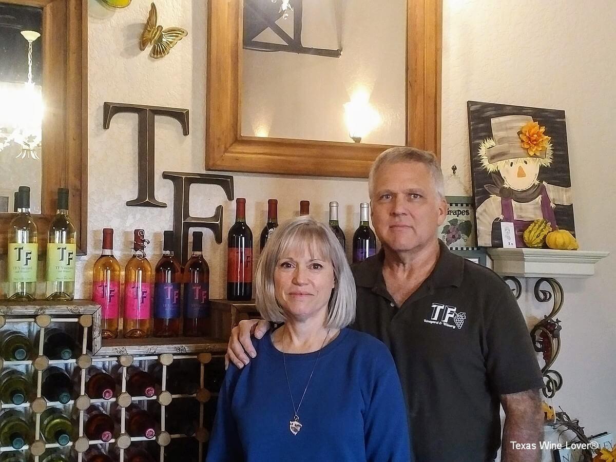 Paula and David Todd