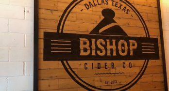 Bishop Cider Co sign