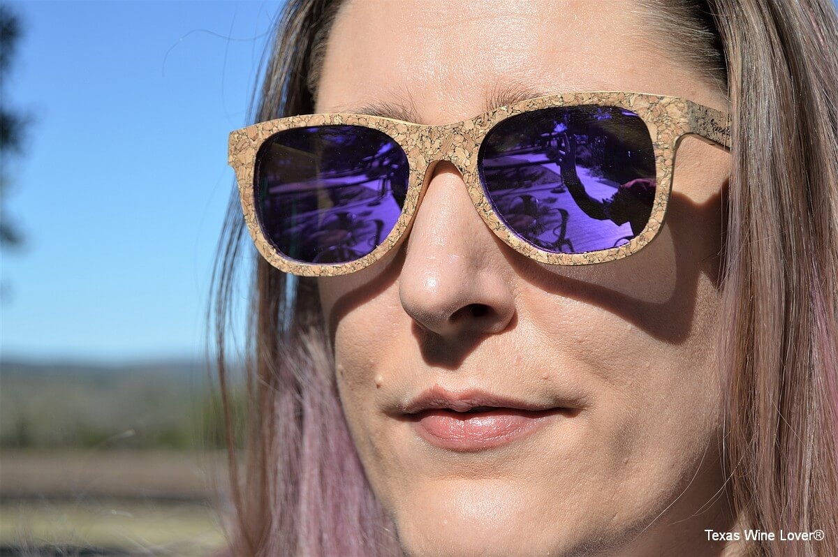 Vineyard Sun sunglasses being worn